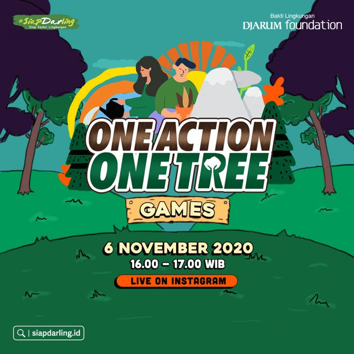 #OneActionOneTree Games Series