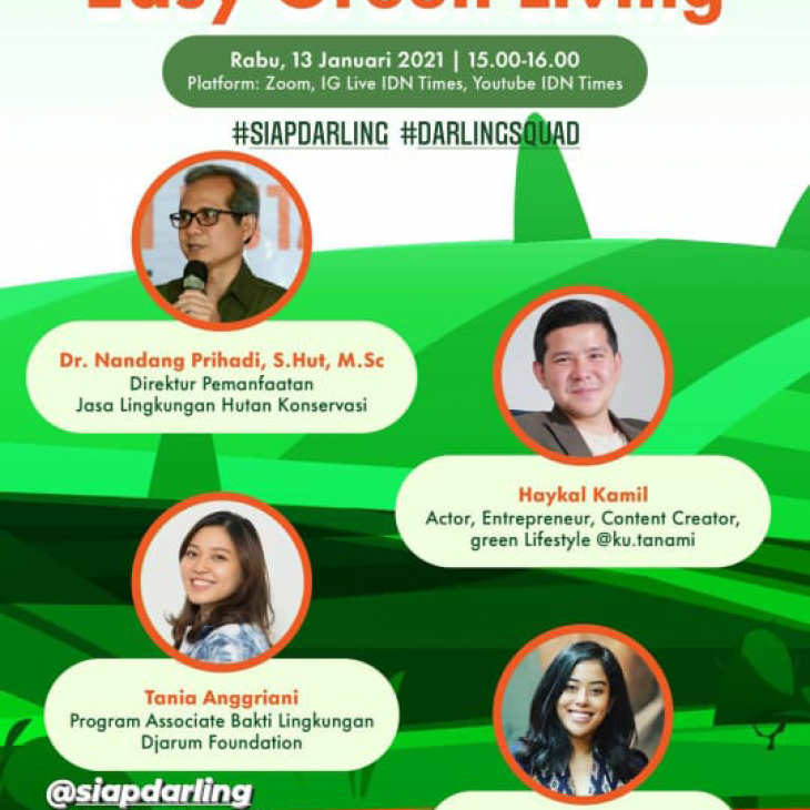 Cheers to New Resolution : Easy Green Living Webminar Bersama IDN Times