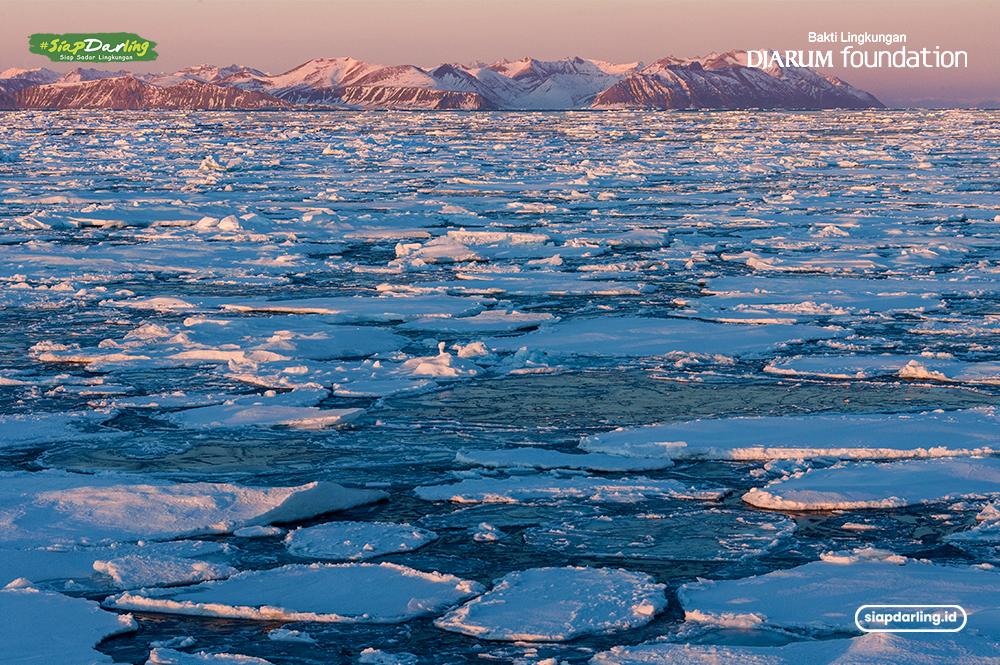 Fenomena Langka Hujan Turun Greenland, Ada Apa?